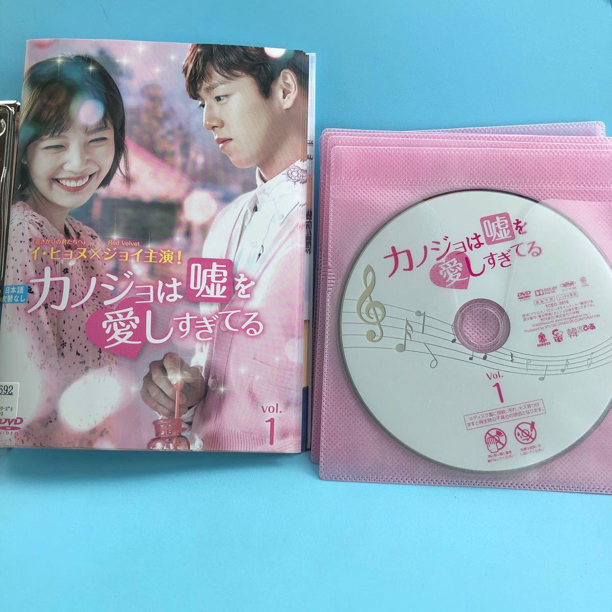カノジョは嘘を愛しすぎてる DVD 全10巻セット 韓国ドラマ