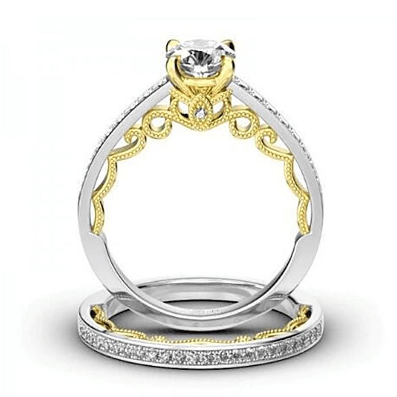 ☆☆過去最高級☆☆ レディース指輪 二層 29連ダイヤモンドリング 2ct #プラチナ仕上# 送料無料 注目 新品 贈答品