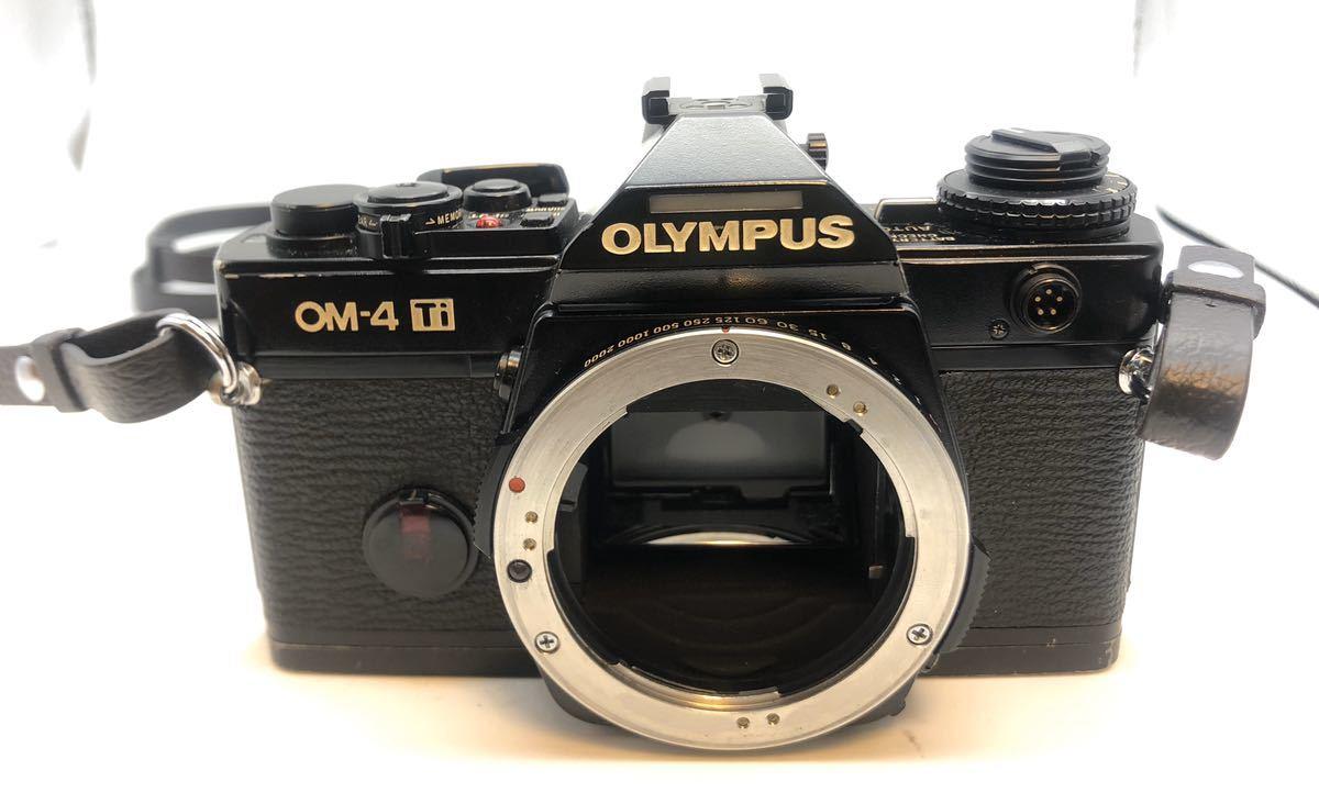 ●OLYMPUS OM-4Ti フィルムカメラ ボディ ブラック