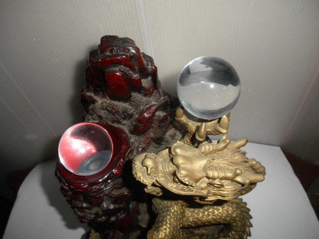 @@ アンティーク コレクション 龍の置物 飾り物 運気向上? リュウ ディスプレィ 古民具 古道具 コレクション インテリア 雑貨_画像4