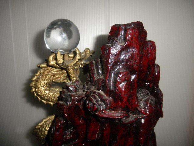 @@ アンティーク コレクション 龍の置物 飾り物 運気向上? リュウ ディスプレィ 古民具 古道具 コレクション インテリア 雑貨_画像7