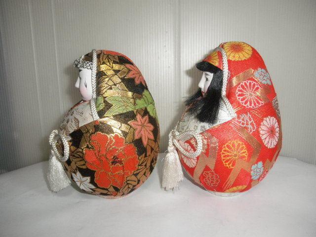@@姫ダルマ アンティーク コレクション 松山 伝統工芸品 縁起物 インテリア 雑貨 飾り物 日本人形_画像2