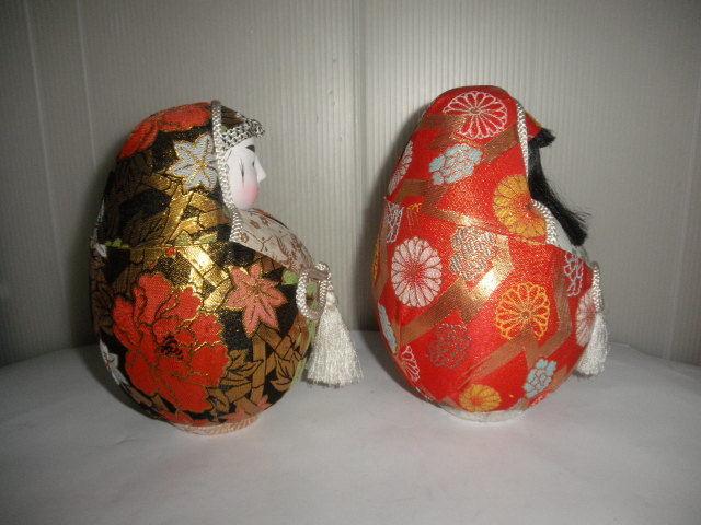 @@姫ダルマ アンティーク コレクション 松山 伝統工芸品 縁起物 インテリア 雑貨 飾り物 日本人形_画像4