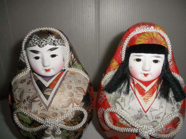@@姫ダルマ アンティーク コレクション 松山 伝統工芸品 縁起物 インテリア 雑貨 飾り物 日本人形_画像9