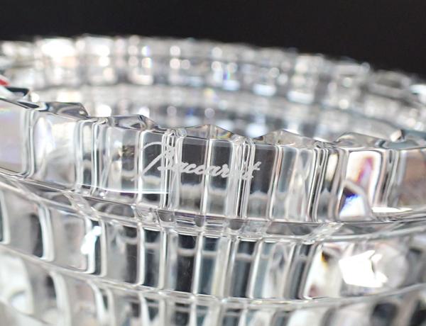 XB5 Baccarat バカラ EYE アイベース 花瓶 フラワーベース クリスタルガラス 高さ14.5cm 箱付_画像6