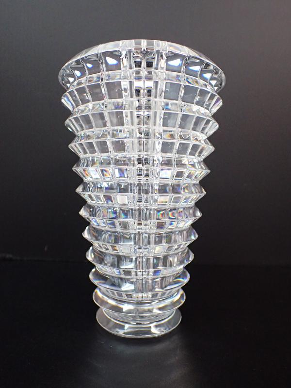 XB5 Baccarat バカラ EYE アイベース 花瓶 フラワーベース クリスタルガラス 高さ14.5cm 箱付_画像5