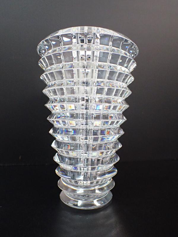 XB5 Baccarat バカラ EYE アイベース 花瓶 フラワーベース クリスタルガラス 高さ14.5cm 箱付_画像3