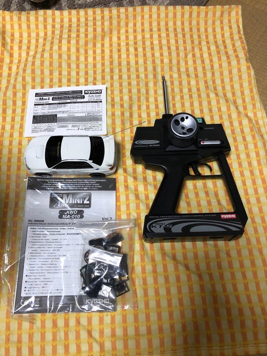 MINI-Z  AWD MA-010 レディセット