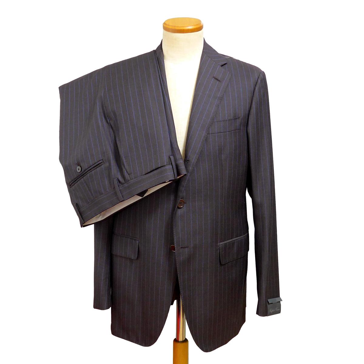 【新品未使用】Raffaele Caruso(ラファエルカルーゾ)ウール シングル3Bスーツ Col:D.BROWN Size:48 イタリア製