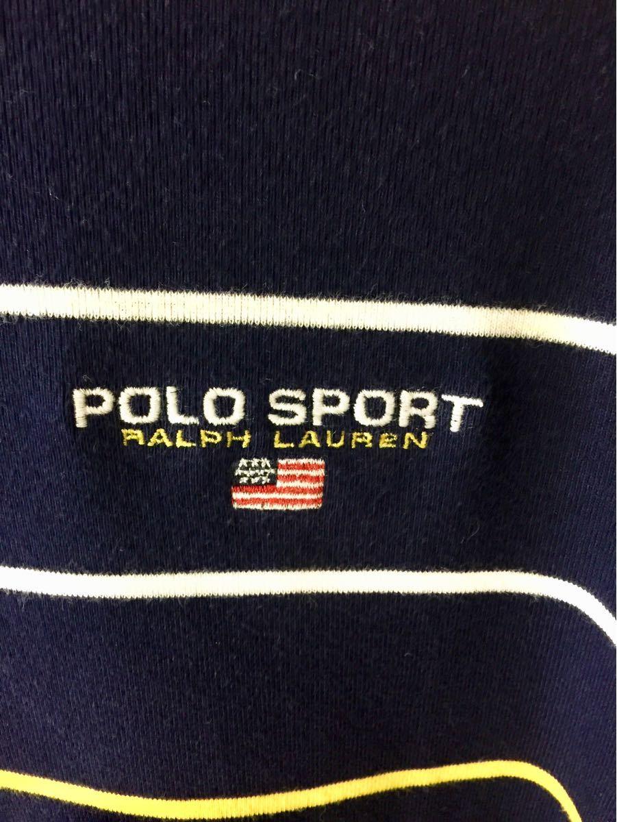 ポロラルフローレン POLO RALPH LAUREN ボーダーポロシャツ