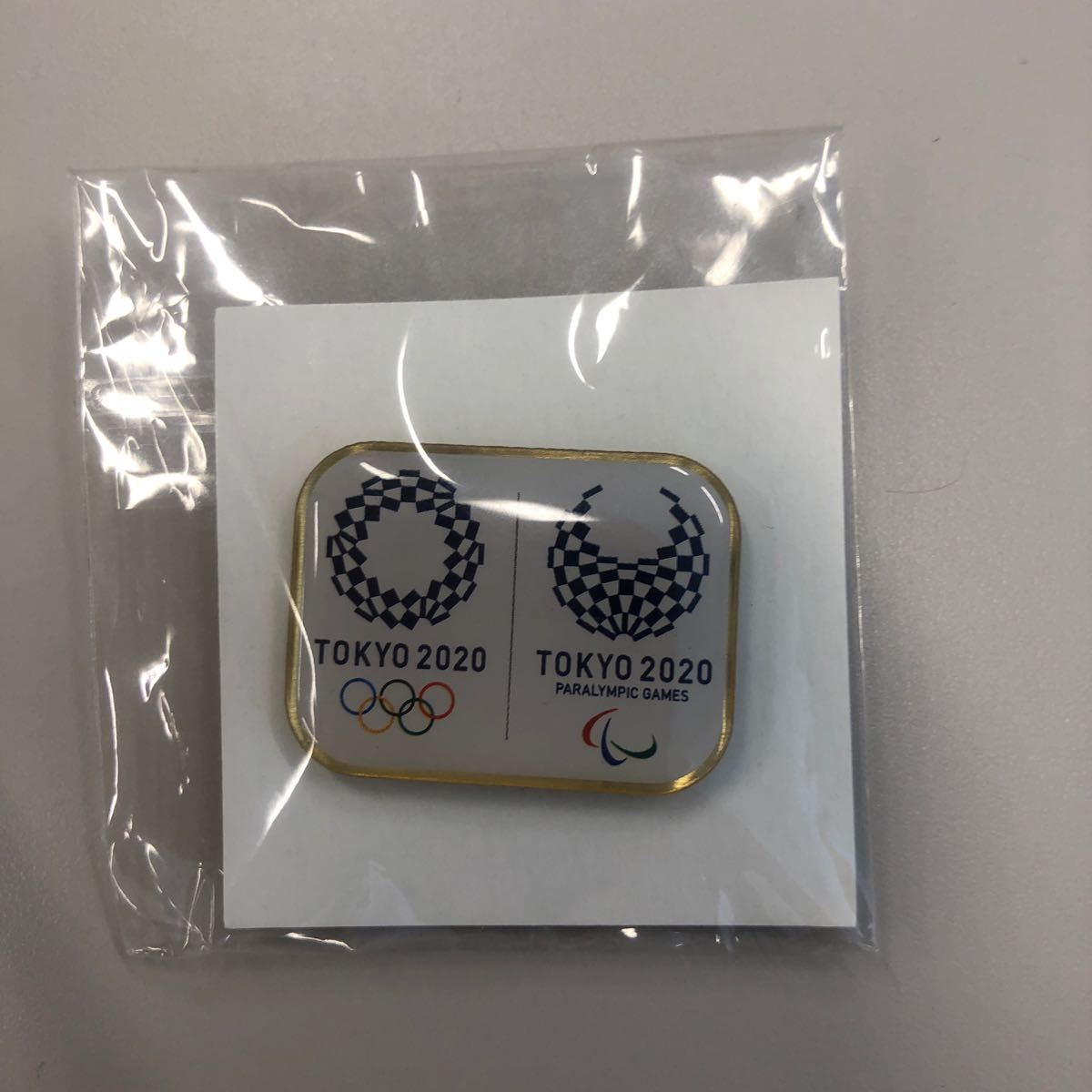 東京オリンピック  パラリンピック  ピンバッジ マグネット