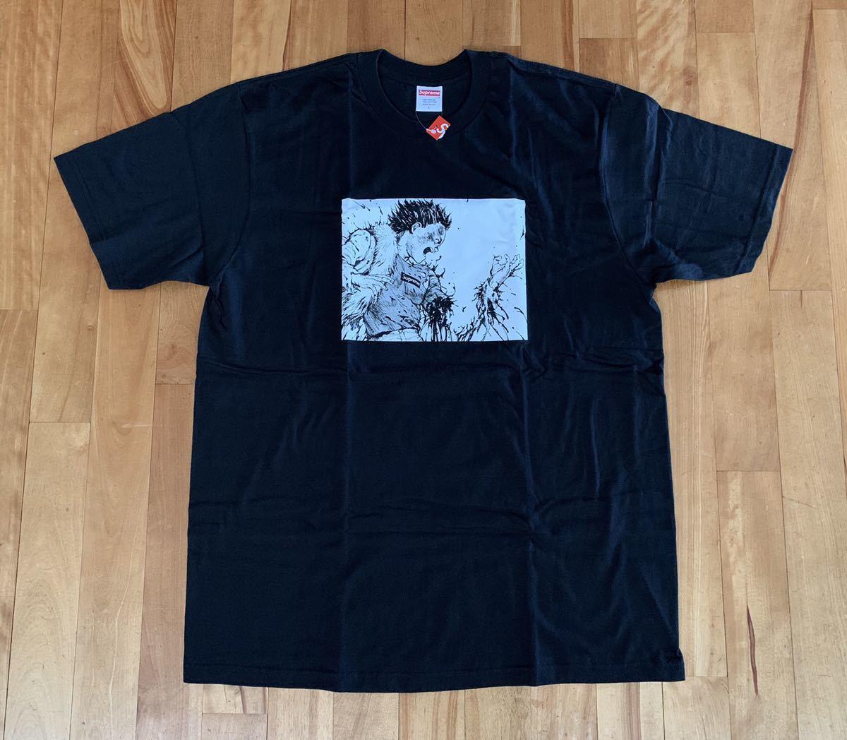 新品未使用 Supreme Akira Arm Tee 黒 L 国内正規品 半タグ付き アキラ Tシャツ