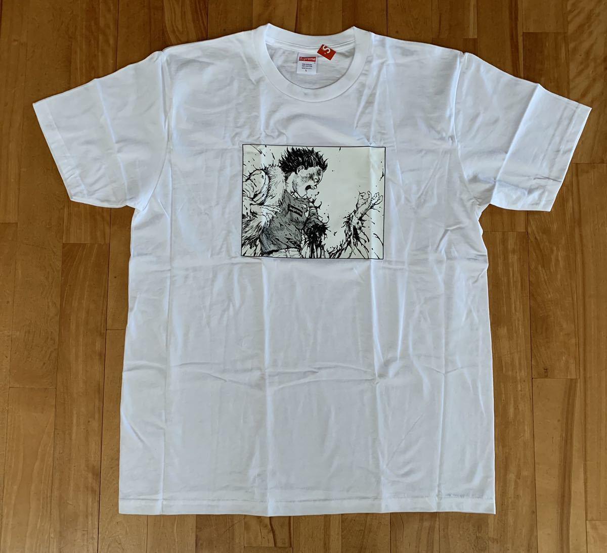 新品未使用 Supreme Akira Arm Tee 白 L 国内正規品 半タグ付き アキラ Tシャツ