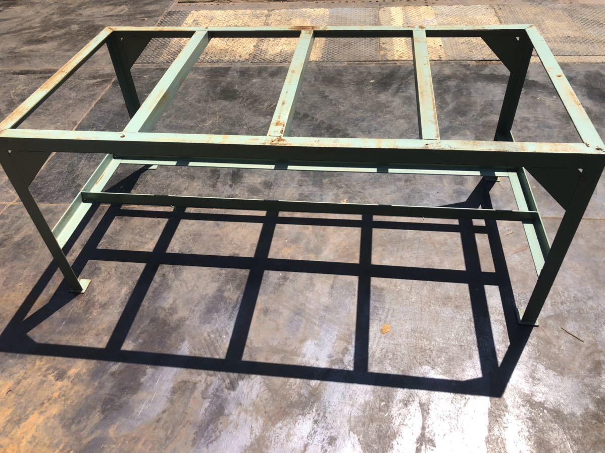 鉄製 作業台 ワークデスク workdesk 台 机 ステージ スロープ ブリッジ_画像4