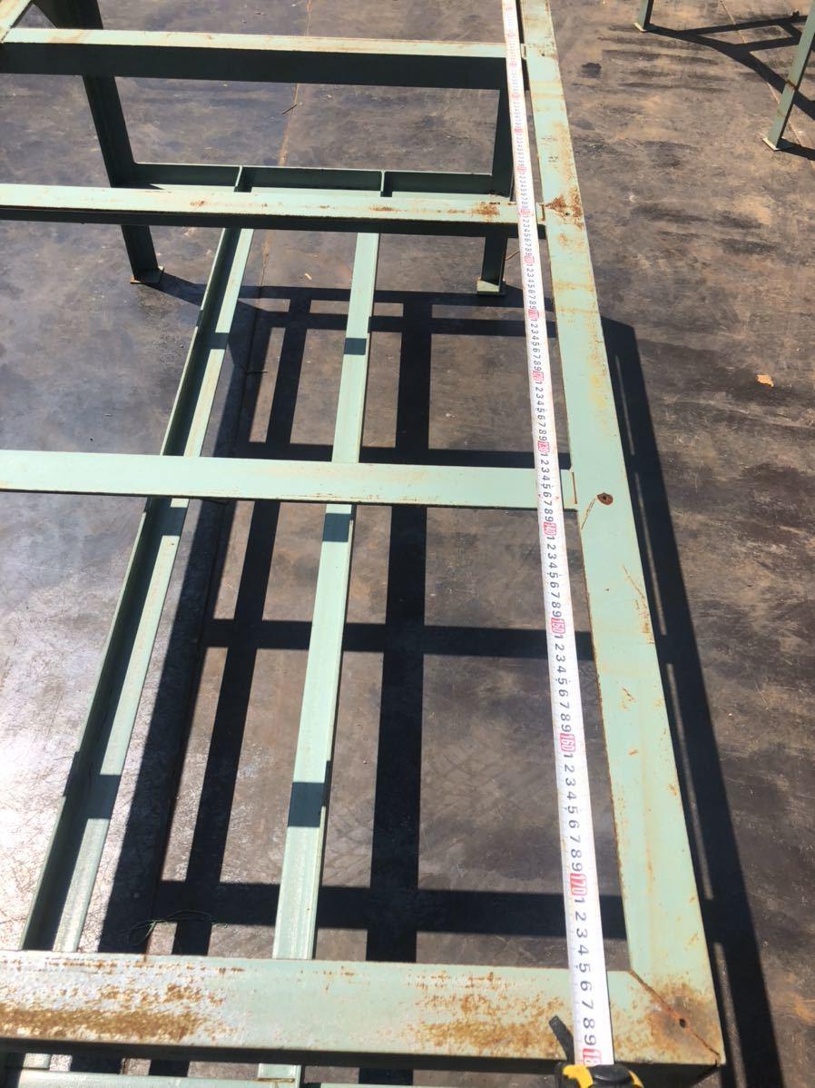 鉄製 作業台 ワークデスク workdesk 台 机 ステージ スロープ ブリッジ_画像2