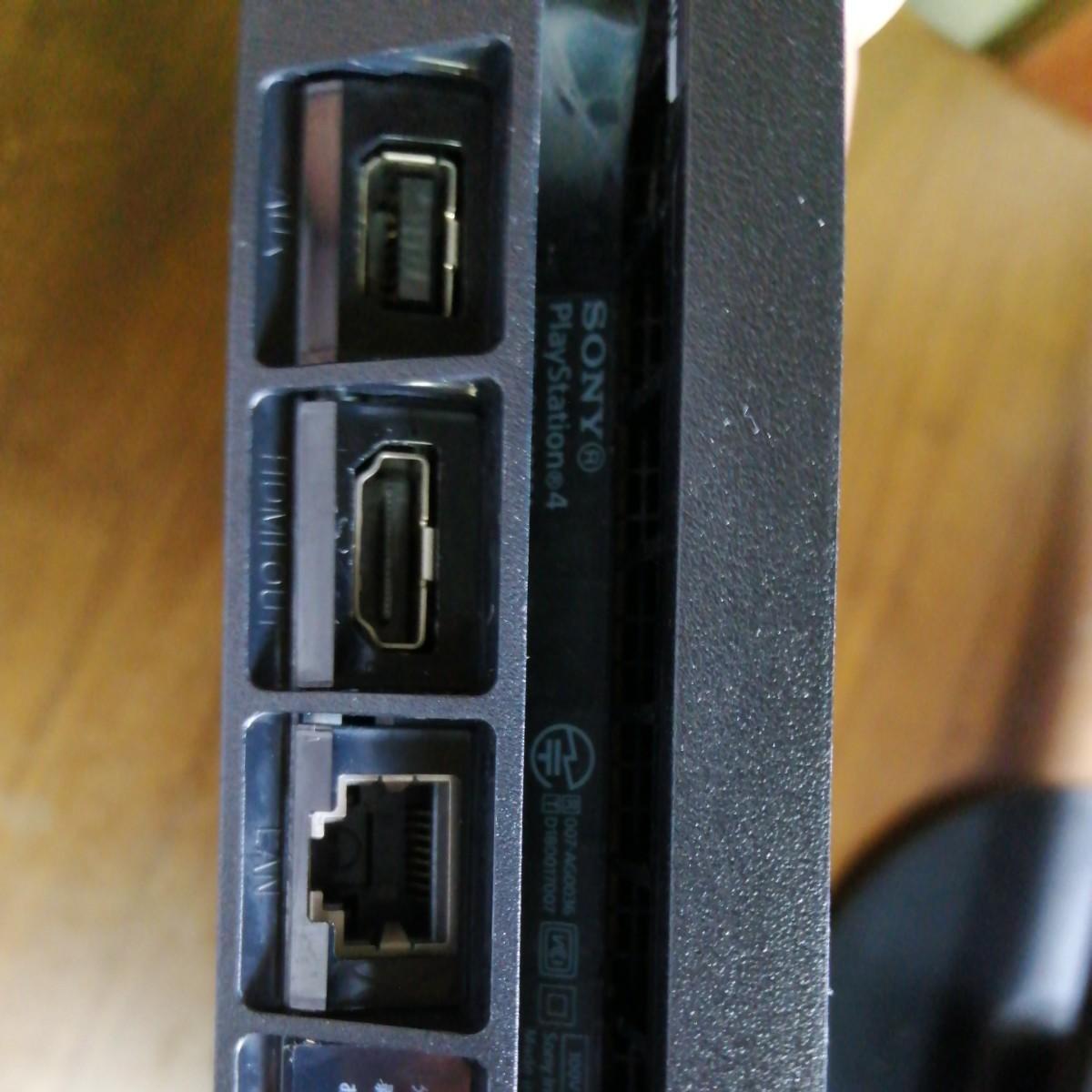 PlayStation4  CUHー2200ABO1ジェットブラック500GB