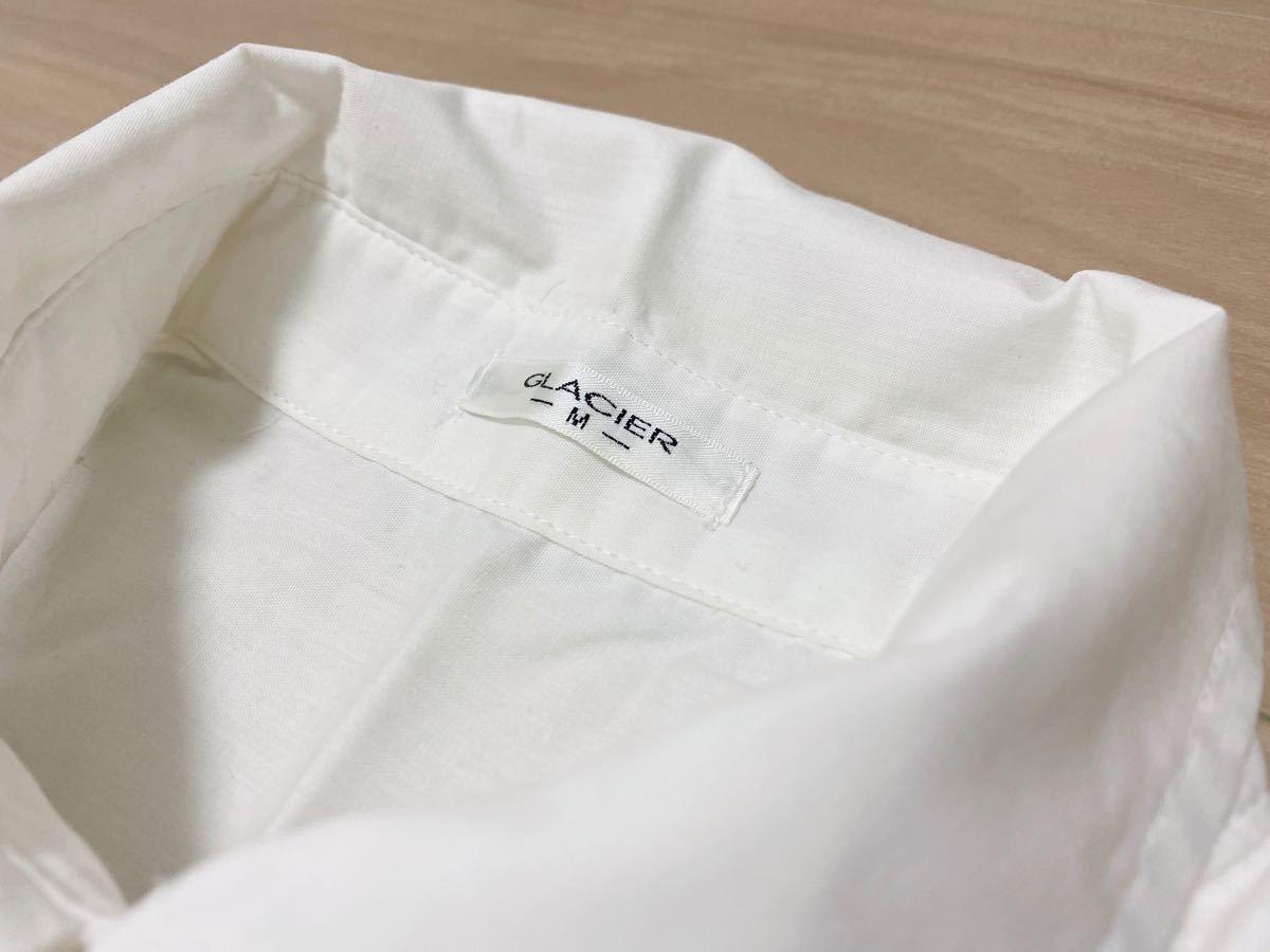 シャツ ブラウス ビジューつき  長袖シャツ