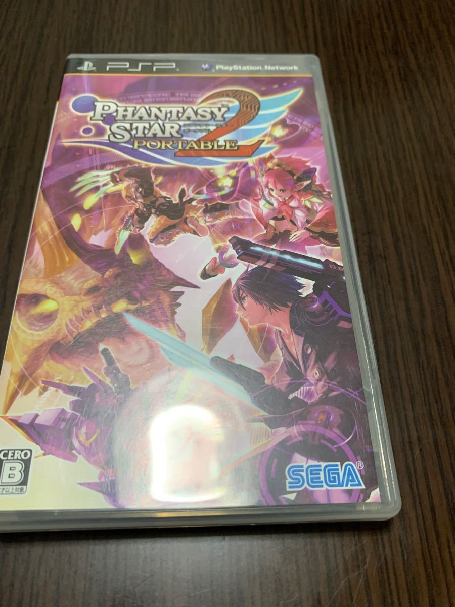 【PSP】 無双OROCHI 魔王再臨 ファンタシースターポータブル2