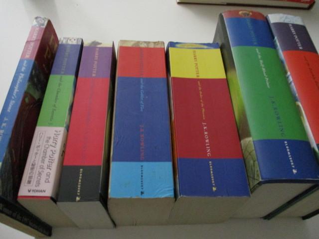 ハリーポッター全巻セット 七冊 harry potter