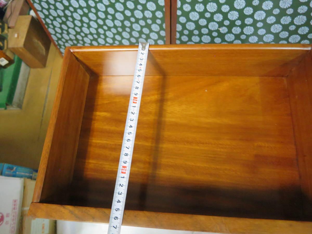 送料無料 木象嵌 象嵌細工 葡萄 7段 チェスト 無垢 引き出し 花台 電話台 小物入れ 収納 家具  _引き出し