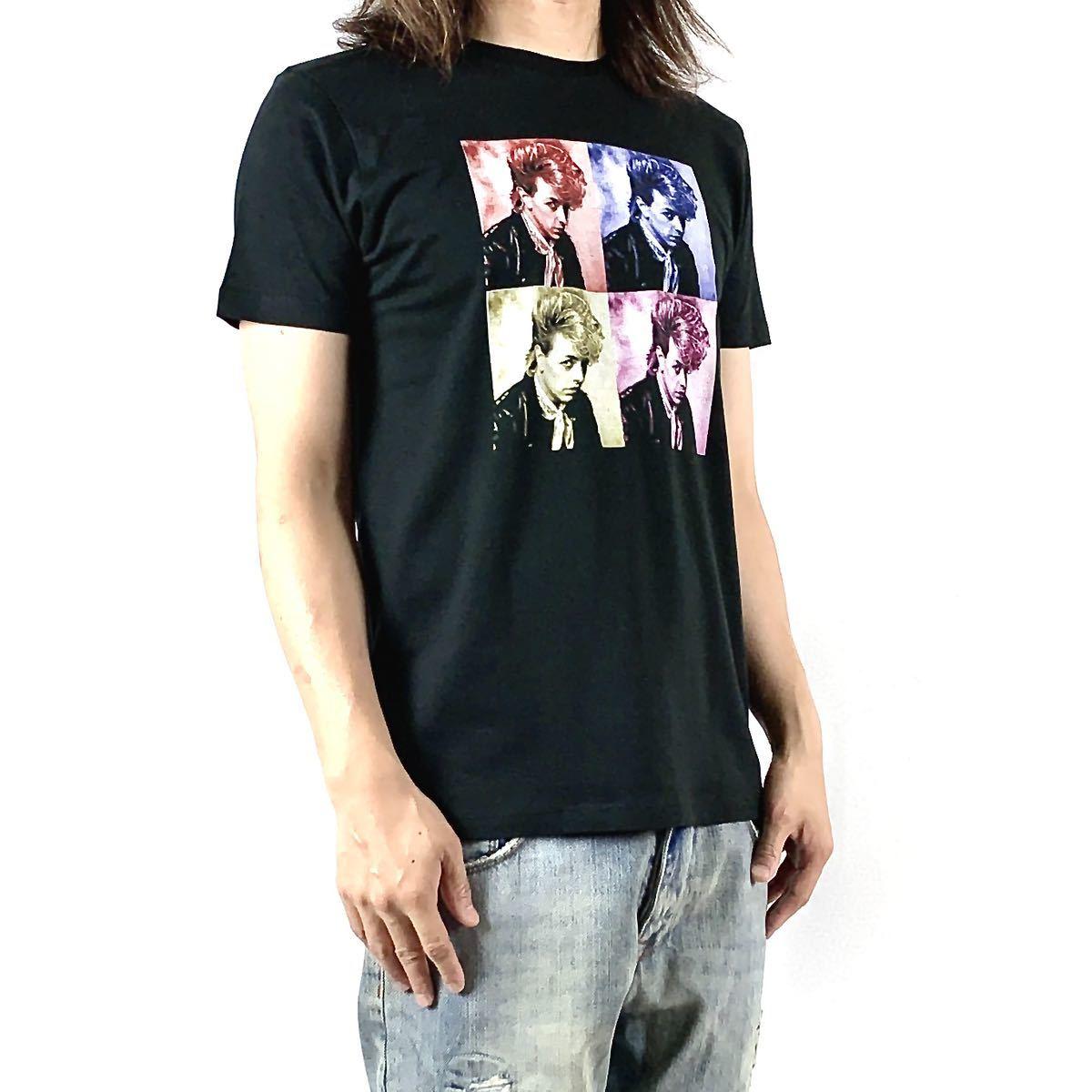新品 ブライアンセッツァー カラフル ポップ アート ロカビリー バンド 黒 Tシャツ S M L XL ビッグ オーバー サイズ XXL~5XL ロンT 対応_画像3