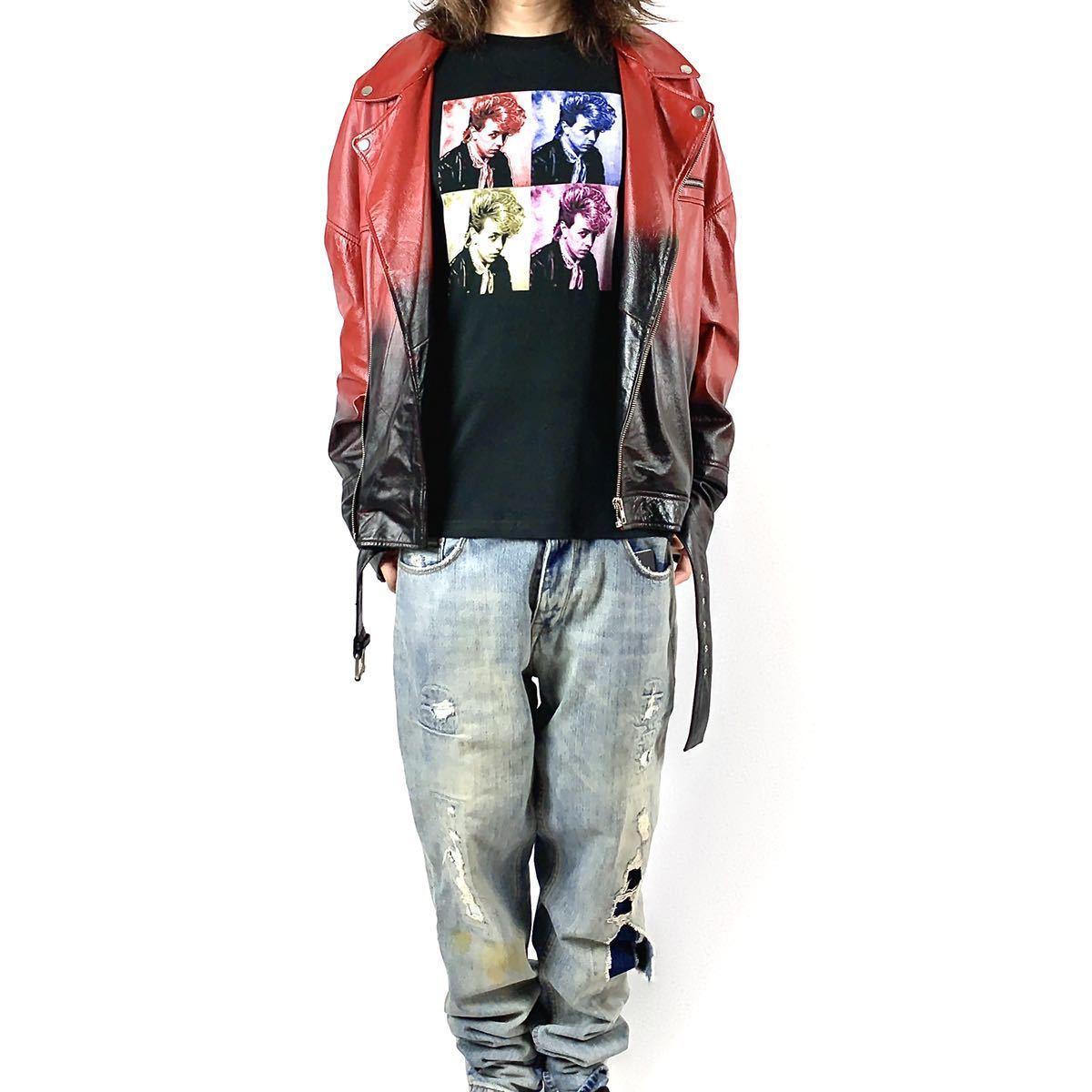 新品 ブライアンセッツァー カラフル ポップ アート ロカビリー バンド 黒 Tシャツ S M L XL ビッグ オーバー サイズ XXL~5XL ロンT 対応_画像5