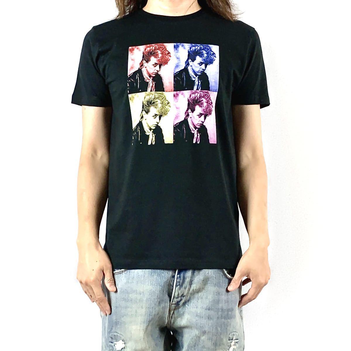 新品 ブライアンセッツァー カラフル ポップ アート ロカビリー バンド 黒 Tシャツ S M L XL ビッグ オーバー サイズ XXL~5XL ロンT 対応_画像2
