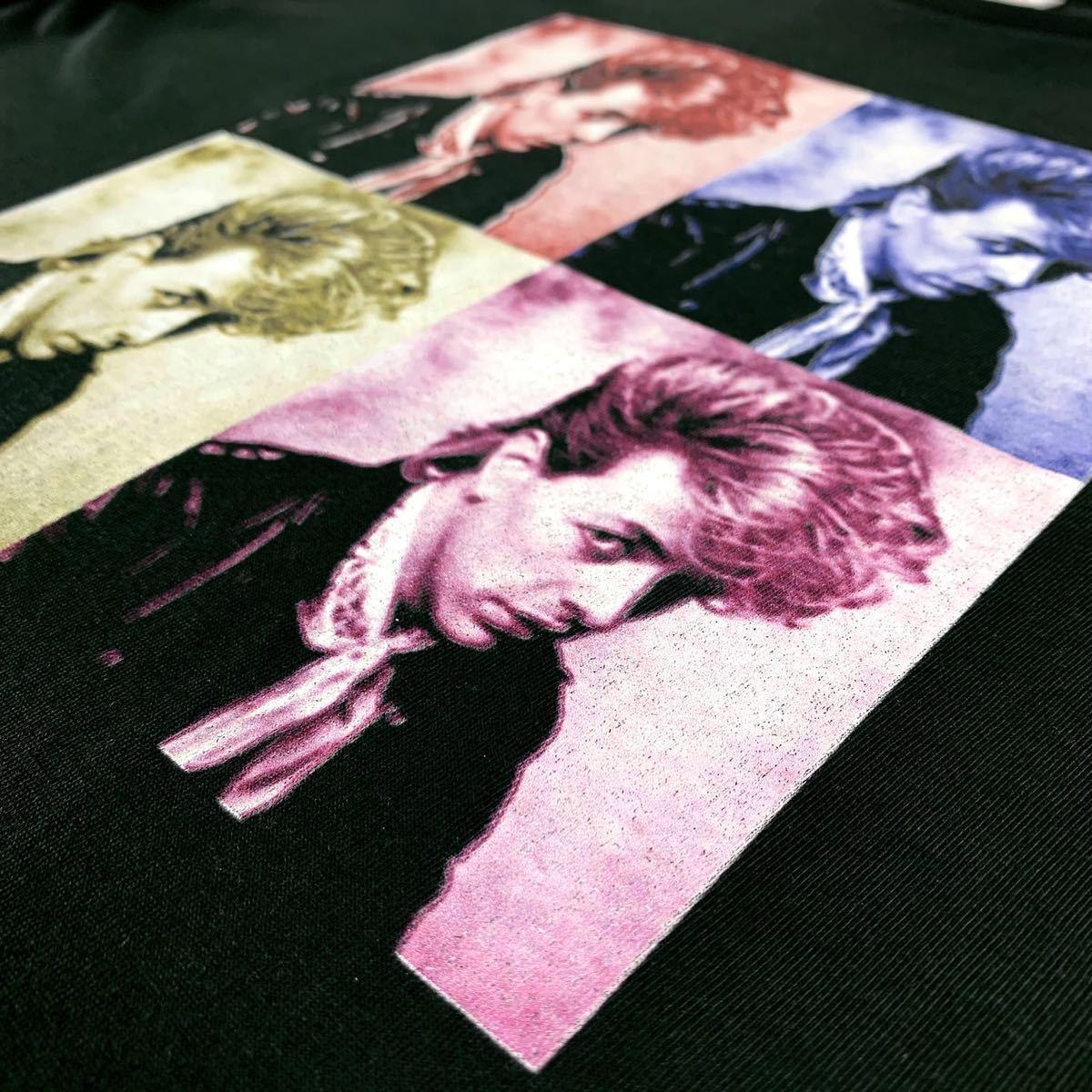 新品 ブライアンセッツァー カラフル ポップ アート ロカビリー バンド 黒 Tシャツ S M L XL ビッグ オーバー サイズ XXL~5XL ロンT 対応_画像8