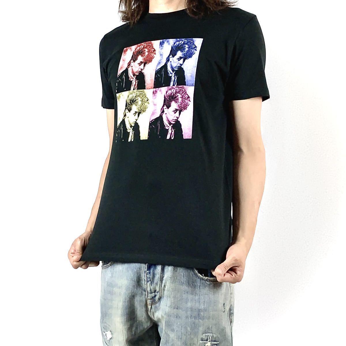 新品 ブライアンセッツァー カラフル ポップ アート ロカビリー バンド 黒 Tシャツ S M L XL ビッグ オーバー サイズ XXL~5XL ロンT 対応_画像1