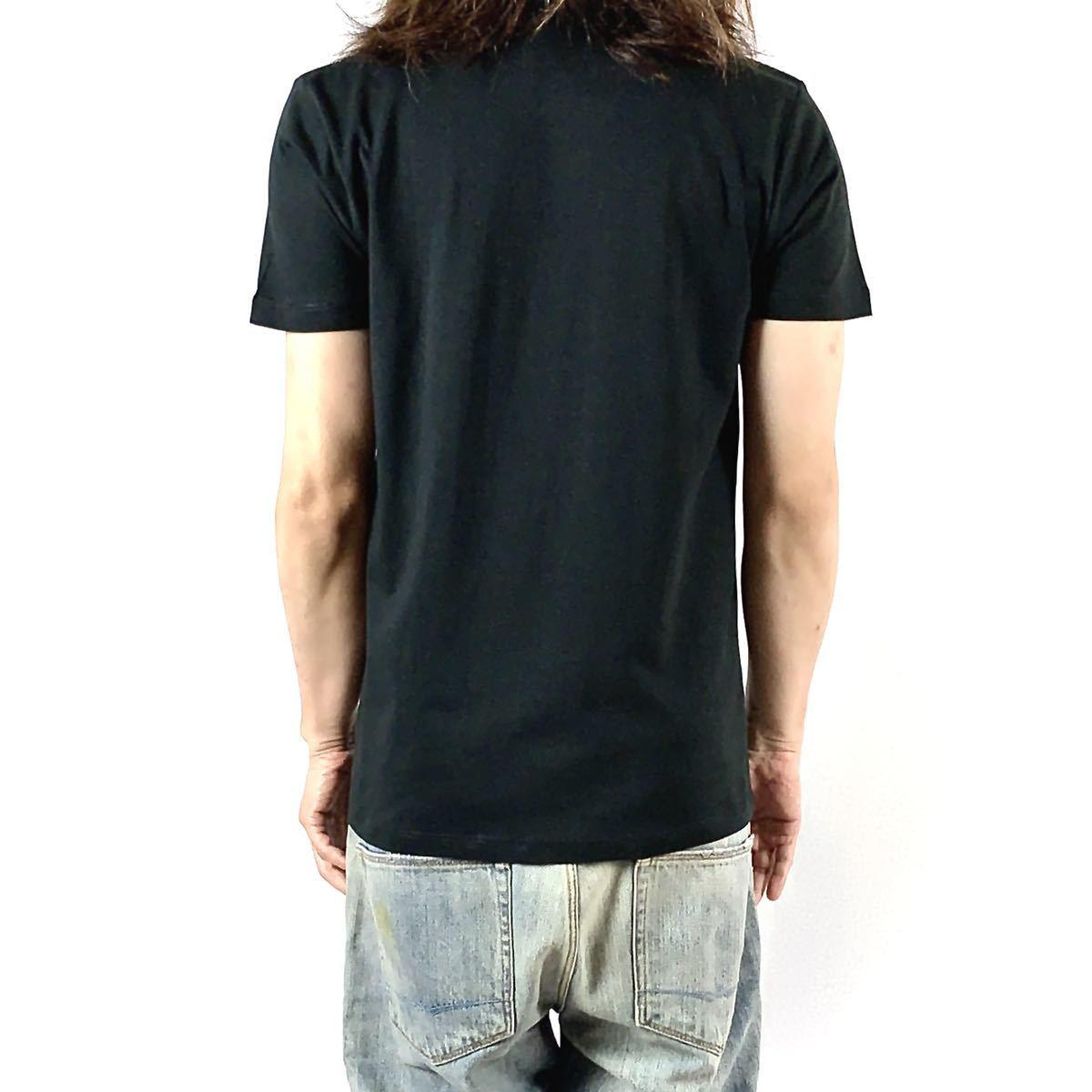 新品 ブライアンセッツァー カラフル ポップ アート ロカビリー バンド 黒 Tシャツ S M L XL ビッグ オーバー サイズ XXL~5XL ロンT 対応_画像4