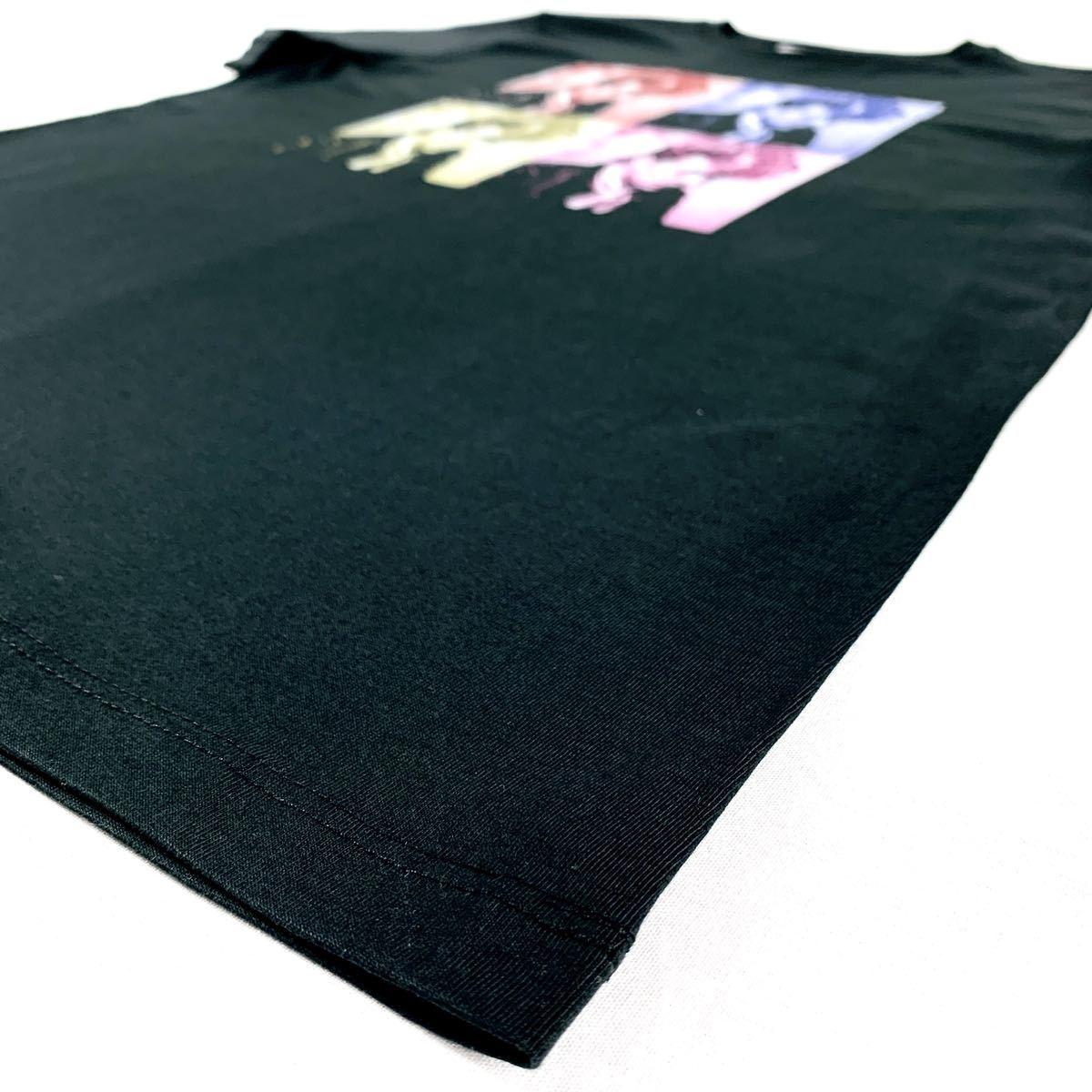 新品 ブライアンセッツァー カラフル ポップ アート ロカビリー バンド 黒 Tシャツ S M L XL ビッグ オーバー サイズ XXL~5XL ロンT 対応_画像9