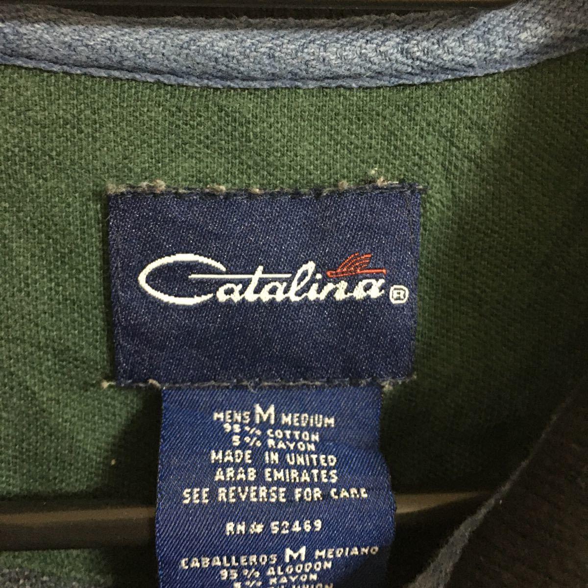 ポロシャツ カタリナ Catalina アメカジ M 長袖 長袖シャツ US古着