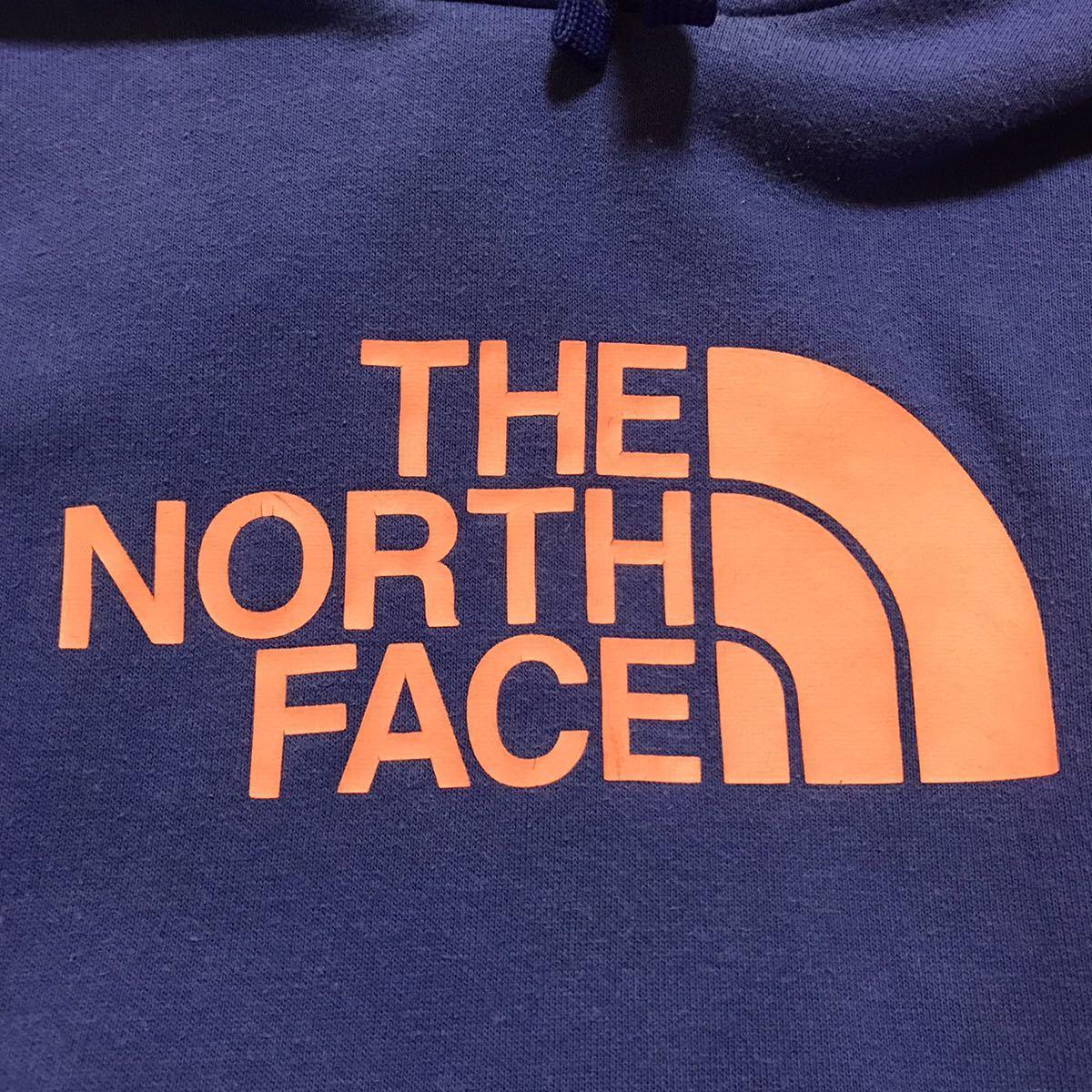 THE NORTH FACE ザ ノースフェイス スウェットパーカープルオーバーパーカー ビッグロゴ メキシコ製 古着