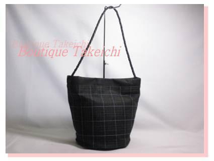 [Burberry] Льняная ткань / теленка ★ Плечо черное / A216 / 18689 Burberry и сумка, сумка и сумка через плечо