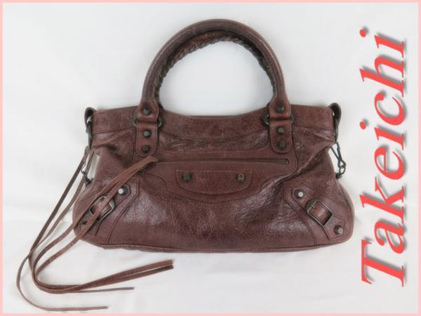 [Balenciaga] Кожаная ★ Сумка на руку и через плечо The First 103208 / I127 is & Valenciaga & Bag, Bag