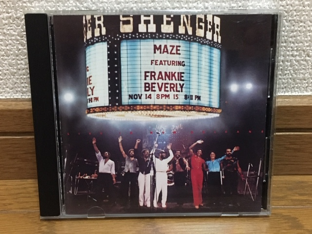 Maze Featuring Frankie Beverly / Live in New Orleans ライブ盤 名盤 輸入盤 Marvin Gaye / The Butlers / Jubu Smith / Big Daddy Kane_画像1