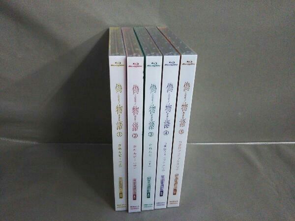 【※※※】[全5巻セット]偽物語 第一~五巻(完全生産限定版)(Blu-ray Disc)_画像1