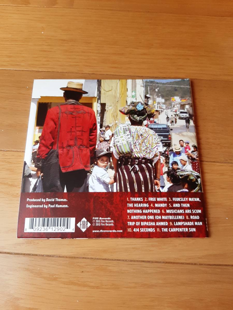 【CD】Pere Ubu - Lady from Shanghai 輸入盤【同梱可能】ペル・ウブ ポスト・パンク アート・ロック インダストリアル_画像3