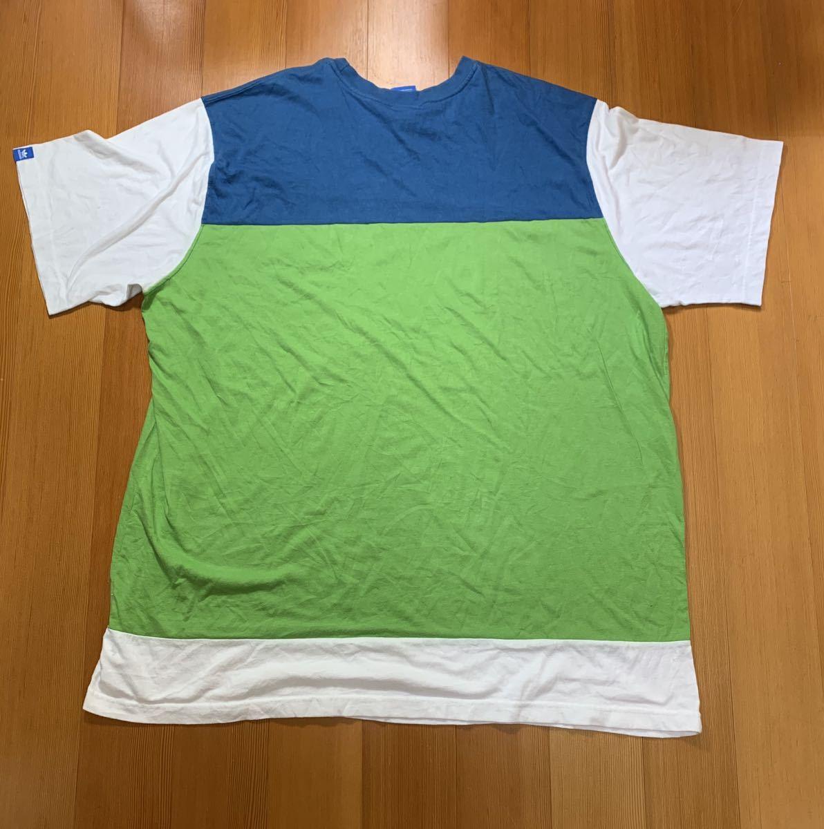 adidas アディダス Tシャツ メンズ レディース オーバーサイズ 大きめ 半袖Tシャツ オーバーサイズ