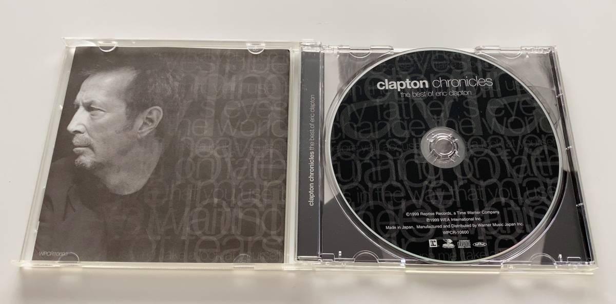 ★エリック・クラプトン BEST OF ■CLAPTON CHRONICLES [the best of eric clapton] 中古品CD★