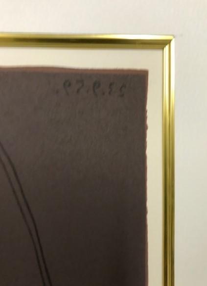 【特価】 ≪  パブロ・ピカソ  ≫  LINOLEUM-CUTS【リノカット版画】  PICADOR-AND HORSE  1962年  PABLO PICASSO