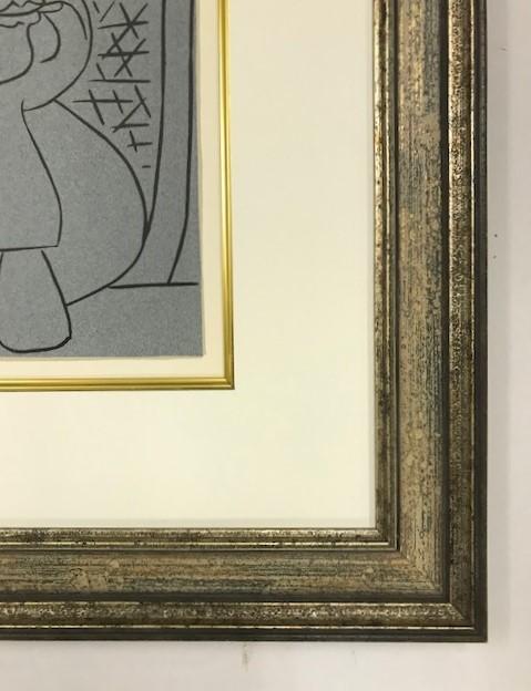【特価】 ≪  パブロ・ピカソ  ≫  LINOLEUM-CUTS【リノカット版画】  FEMALE-HEAD   1962年  PABLO PICASSO