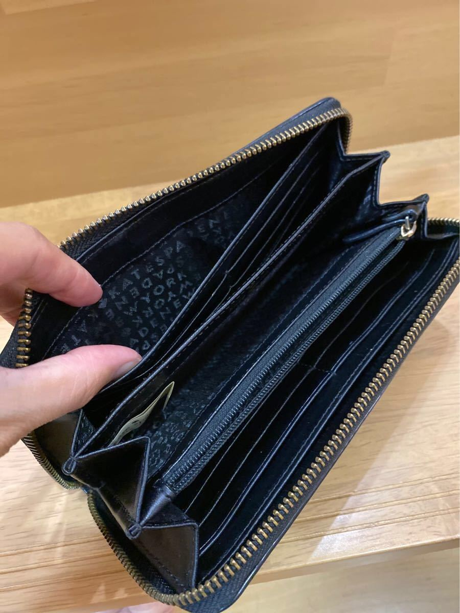 ☆大幅値下げ☆kate spade ケイトスペード 長財布 ラウンドファスナー