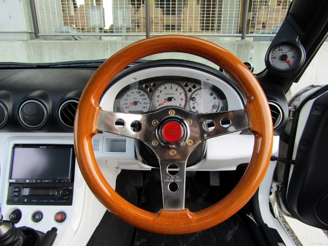 即決!S15 シルビア スペックR 6速MT ターボ 車高調 社外マフラー 3ナンバー登録ワイドボディ 他改造多数_画像10