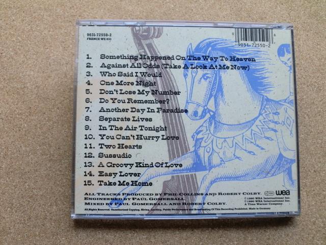 *フィル・コリンズ/Serious Hits...Live!(9031-72550-2)(輸入盤)_画像4