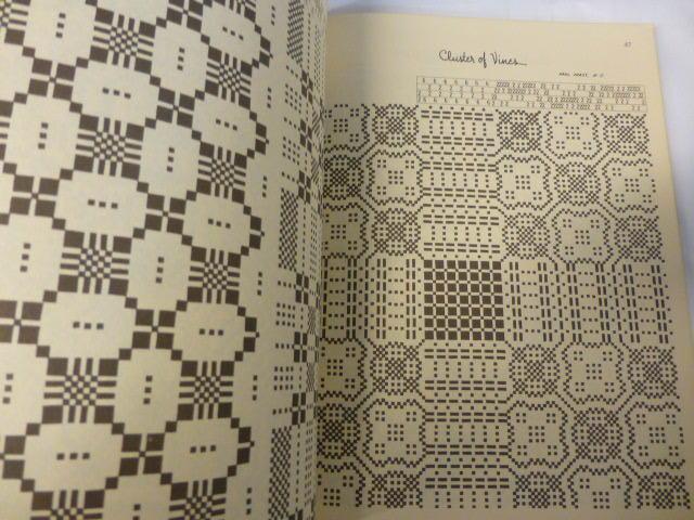 【洋書】織物技法 A HANDWAVER'S SOURCE BOOK 手織り 図案集