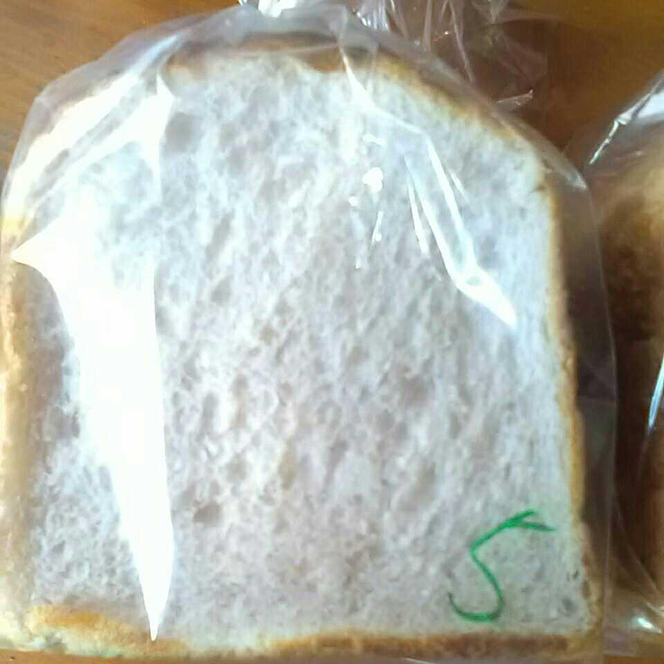*無添加のお米とお芋の食パン* バター、マーガリン不使用です 塩分、糖分控え目 お子様からお年寄りまでオススメ 美味!_画像4