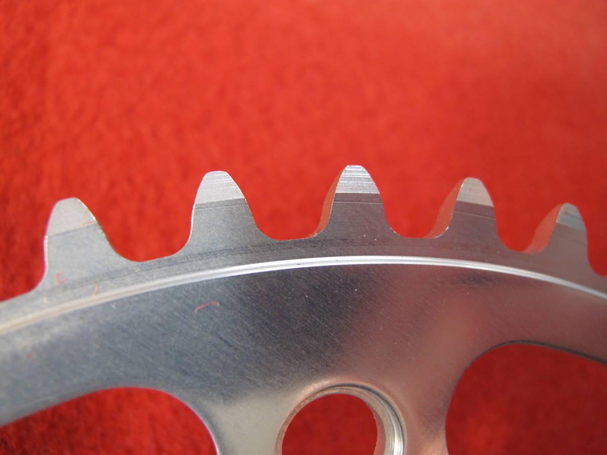 20111 マイティコンペ MIGHTY COMPETITION チェーンリング 49T ピスト用 新品 NJS 厚歯リブ付 PCD: 151 新品未使用_画像6
