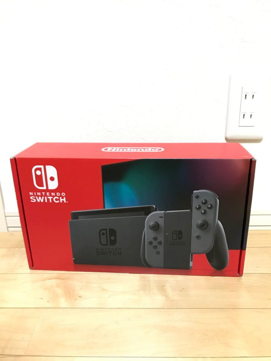 新型 Nintendo Switch 本体 グレー  新品未開封