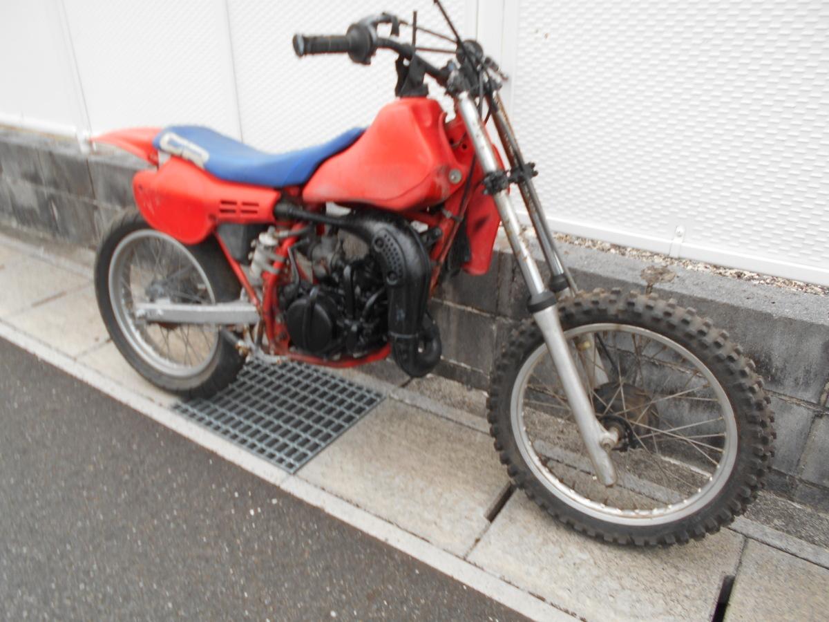 「絶版旧車メ-カ-廃盤ホンダ CR80HE04-1100~2サイクルフルパワ-!趣味のバイクマニア館ビンテ-ジギフトップトレ-ディング」の画像1